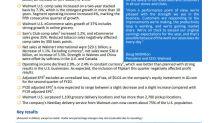 Walmart U.S. Q2 comp sales grew 2.8% and Walmart U.S. eCommerce sales grew 37%
