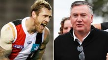 Eddie McGuire left red-faced after Saints slam commentary bungle