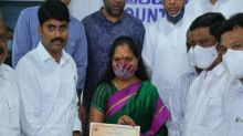 Telangana CM's daughter wins 88 pc votes in recent MLC bye-election from Nizamabad