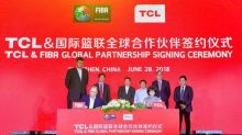 TCL announces global partnership with the International Basketball Federation