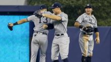 Yankees takeaways from Sunday's 3-1 win over Marlins, including Joey Gallo's first hit with Bombers