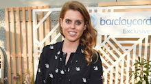 Princess Beatrice accessorises with £3 pearl hair clips in new video interview