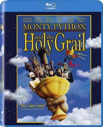 Monty Python and the Holy Grail comes to Blu-ray March 6th, brings an iPad app