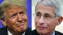 'A record of telling the truth': Fauci stands ground as Trump works to undermine him