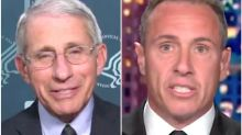 Anthony Fauci Says Chris Cuomo Was Sicker Than Viewers Knew