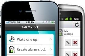 Talk O' Clock makes alarm clocks more social, strangers more friendly