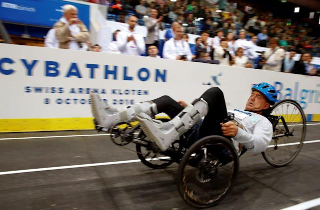 The first Cybathlon pushed the limits of bionic technology