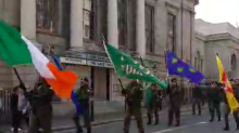 Dissident Republican Group Marches in Dublin Two Days After Journalist Killed