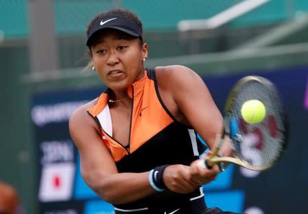 Tennis - Pan Pacific Open Women's Singles Quarter-final match