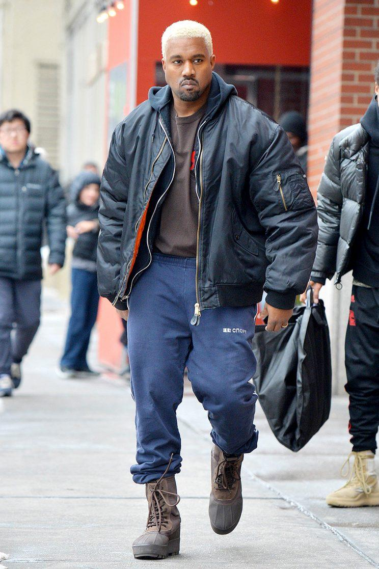 8fc23b6f Kanye West Kicks Out the Press at Yeezy Season 5 New York Fashion ...