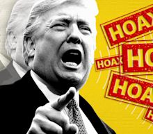 Trump identifies another hoax: The coronavirus