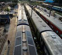 India's ageing trains get green makeover with solar panels