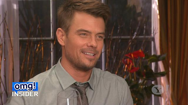 Josh Duhamel Dishes to 'omg! Insider' about 'Fergalicious' Wine