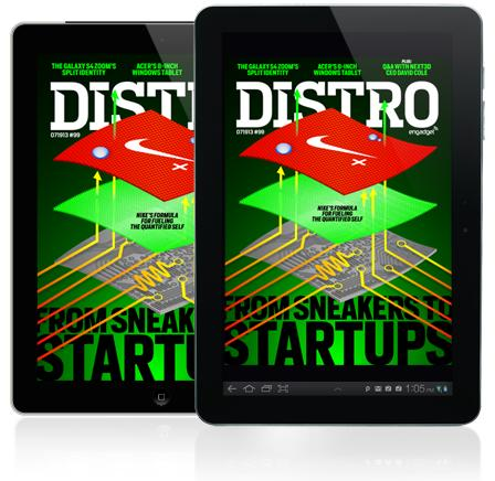 Distro Issue 99: Inside the Nike+ Accelerator