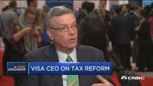Visa CEO Alfred Kelly weighs in on tax cuts, bitcoin and ...