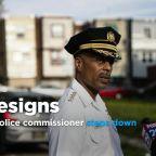 Philadelphia police commissioner resigning