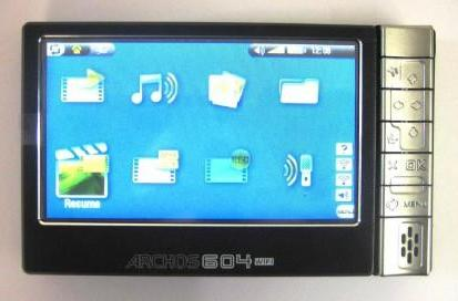 Archos' WiFi-capable 604 slips by the FCC