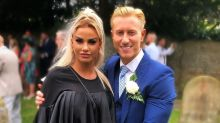 Katie Price deletes wedding post after being accused of 'stealing the bride's thunder'