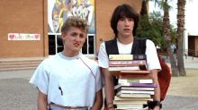 Keanu Reeves and Alex Winter surprise graduates from 'Bill & Ted' high school with video message