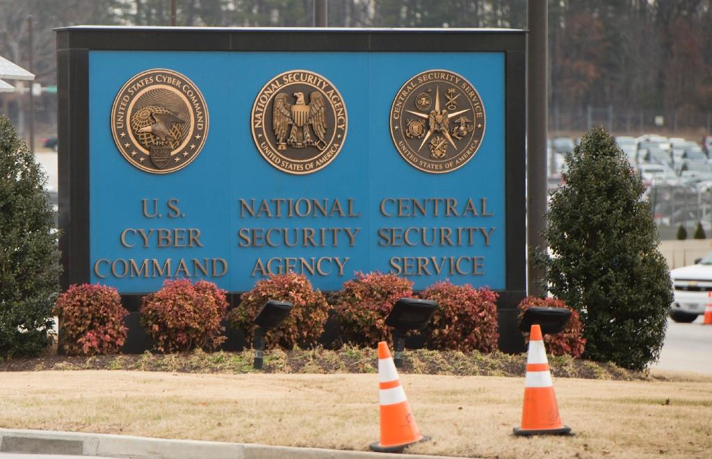 The headquarters of the top-secret National Security Agency in Fort Meade, Maryland: US spending on intelligence is rising sharply