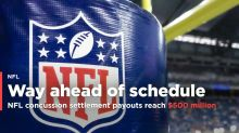 NFL concussion settlement payouts reach $500 million in fraction of projected time