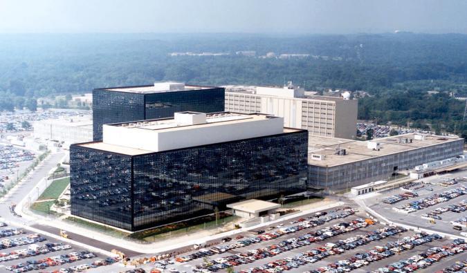 NSA Headquarters, Wikimedia Commons