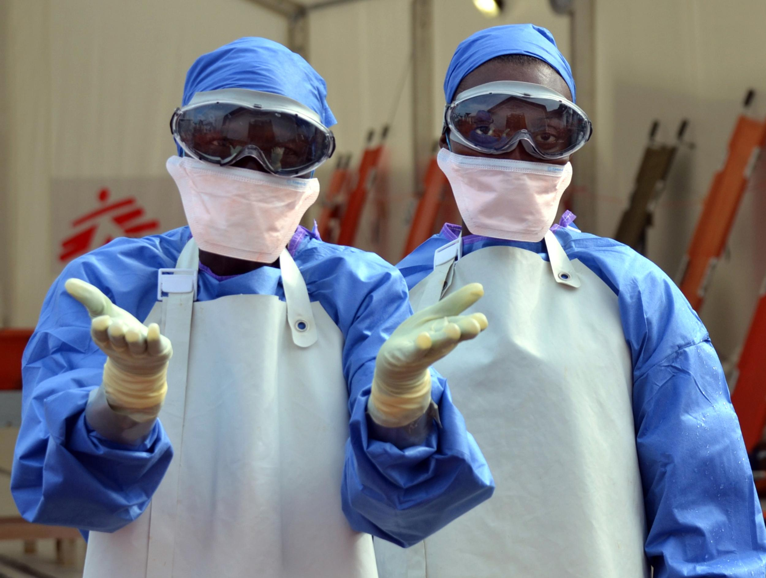 The World Health Organization (WHO) says close to 5,000 people have died from Ebola as the number of infections soars to almost 10,000 (AFP Photo/Zoom Dosso)