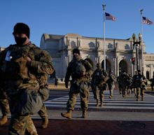 Republican governors are ordering their National Guard troops home from DC amid backlash over members resting in a parking garage
