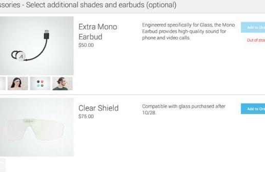 Google now selling Glass accessories to Explorer Edition owners
