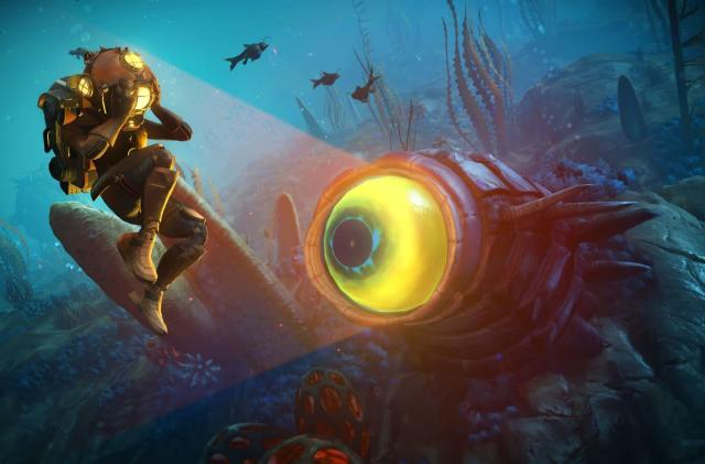 'No Man's Sky' update overhauls underwater exploration