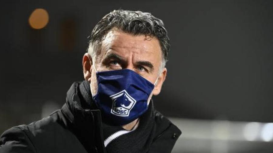 Foot - L1 - Lille - Christophe Galtier (Lille): « Sylvain Armand ne travaillera pas sur le recrutement »