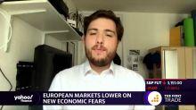 European markets lower on new economic fears