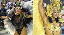 """Paolla Oliveira diz que não passará coroa para Carla Diaz: """"Só me tiram amarrada"""""""