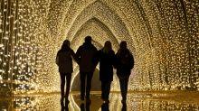 20 of the UK's best Christmas light trails