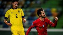 Sem Cristiano Ronaldo, Portugal vence Suécia por 3 a 0 pela Liga das Nações