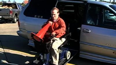 Omaha Weighs Need For More Handicapped Van Parking