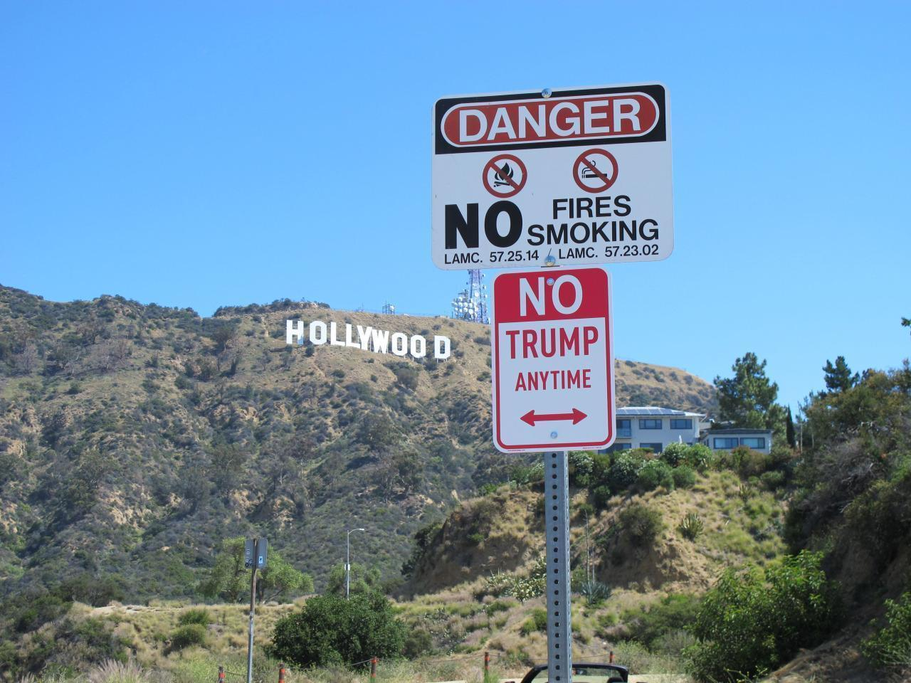 photo regarding Printable Trump Sign named No Trump Any time signs and symptoms are popping up in the vicinity of the place