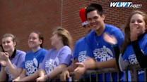 High school students attempt lip dub record to raise awareness