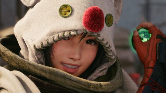 Yuffie in Final Fantasy VII Remake Intergrade