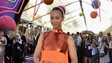 Zoe Saldana, Selena Gomez, and More Celebs Prove Orange Is the New Black on the Red Carpet