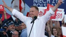 Populist president wins re-election in Poland