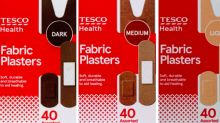 Tesco becomes first UK supermarket to launch plasters for different skin tones
