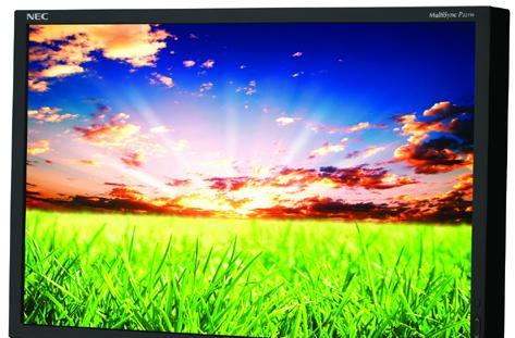 NEC introduces 22-inch MultiSync P221W LCD monitor