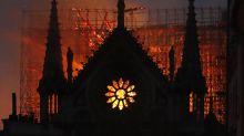 Aseguran que Jesús apareció entre las llamas de la catedral de Notre Dame, y hay una explicación