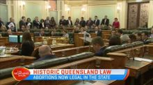 Abortion now legal in Queensland