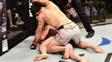 Sickening scenes as UFC referee 'almost gets fighter killed'