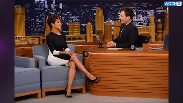 This Is How Halle Berry And Jimmy Fallon Roll