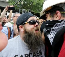 Bear spray and metal poles confiscated as far-right groups rally in Portland