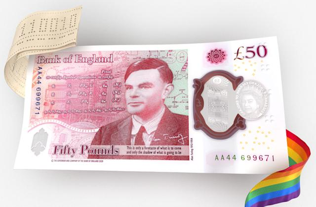The UK's Alan Turing £50 bank note is a love letter to coding