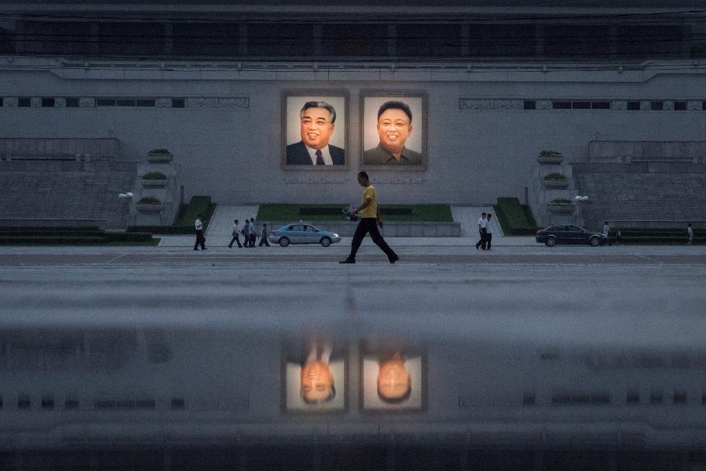 """North Korea has called new UN sanctions a """"violent violation"""" of its sovereignty and says it will not take a single step back from developing its nuclear programme (AFP Photo/Ed JONES)"""